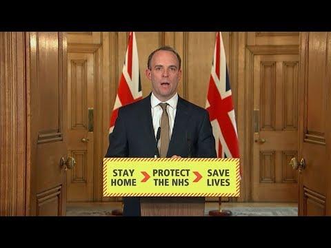 Live: Dominic Raab Leads The UK Government Daily Coronavirus Update - April 6 | ITV News