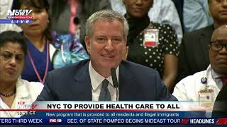 BREAKING: New York City To Provide Health Care To Illegal Immigrants