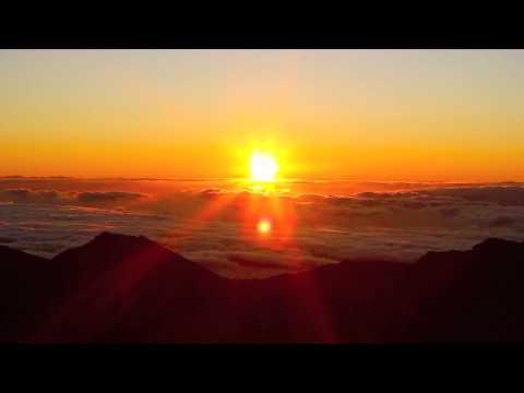 The Most Beautiful Sunrise - Haleakala Maui, Hawaii