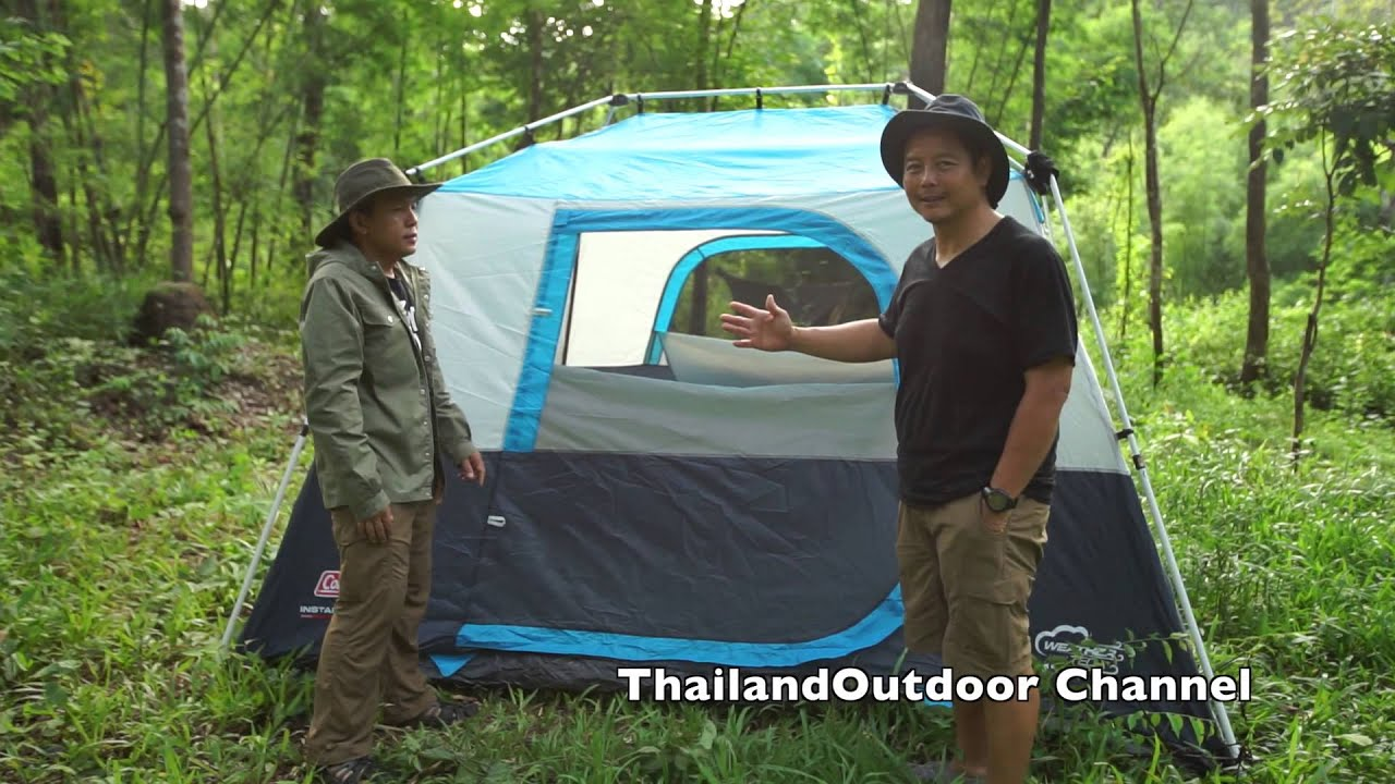 & Coleman Instant Cabin 6 - YouTube