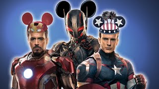 Age of Ultron gets even more Disneyfied [Avengers Parody]