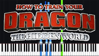 Legend Has It - How to Train Your Dragon: The Hidden World [Piano Tutorial] // Torby Brand