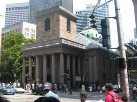 A Historical City- Boston, Massachusetts