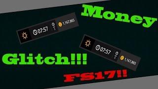 Farming Simulator 17 CZ/SK!! Money Glitch!!! (PS4,Xbox) !!!  (Nefunkční)