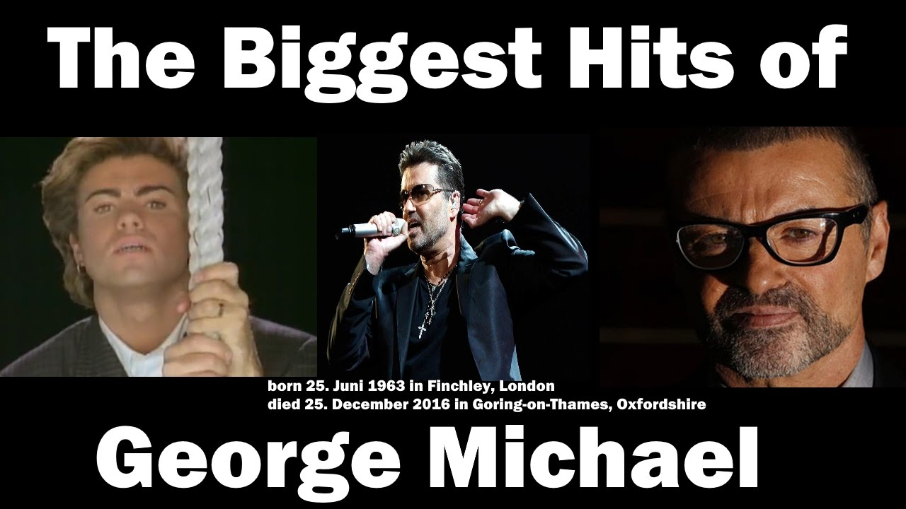 maxresdefault the biggest hits of george michael [1963 2016] best of george
