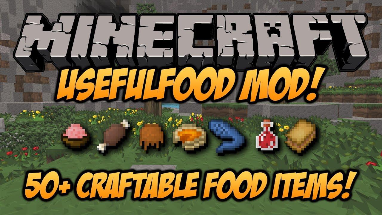 Minecraft usefulfood mod 164 craft yourself a meal mod minecraft usefulfood mod 164 craft yourself a meal mod spotlight youtube solutioingenieria Choice Image