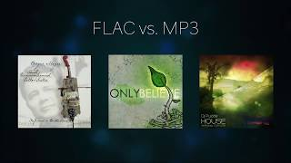 FLAC vs. MP3 (blind A/B sound test)