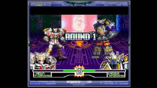 Mighty Morphin Power Rangers - Fighting Edition - -PlayThrough- Vizzed.com GamePlay - User video