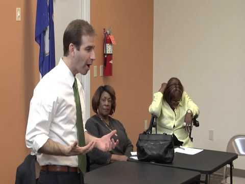 Budget Talk to North Hartford Seniors in Action
