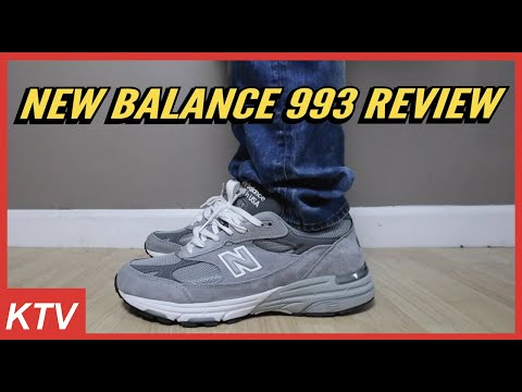 New Balance 993 UNBOXING + ON FOOT