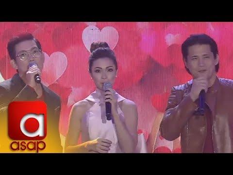 """ASAP: """"Sana Dalawa Ang Puso"""" stars sing their drama series' theme song"""