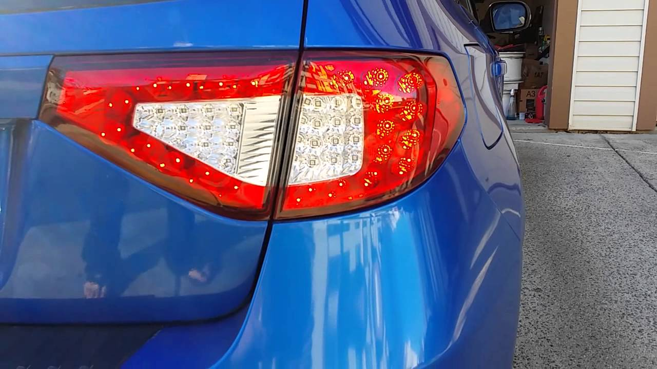 08 Wrx Sti Valenti Tail Lights Youtube