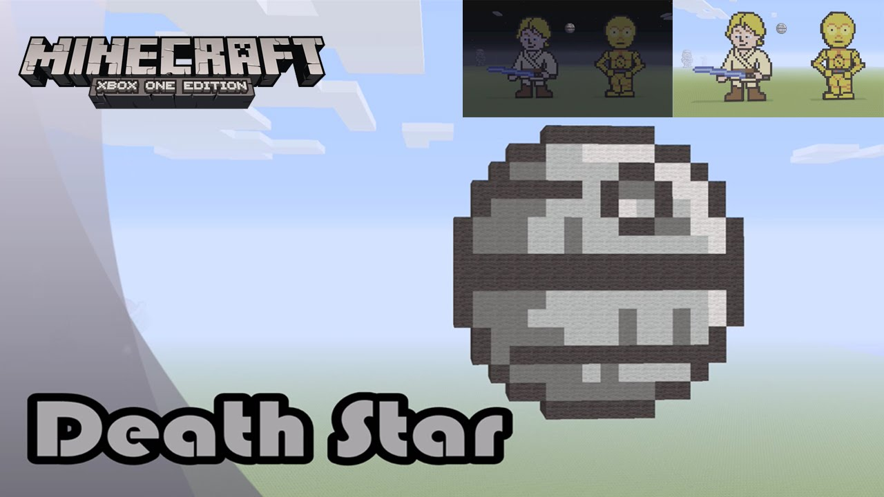 Minecraft How To Build The Death Star