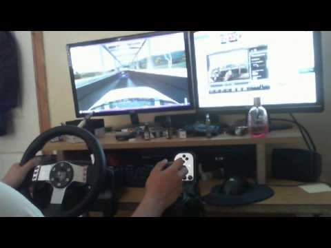 LFS:Drift:Onboard twin G27 720*