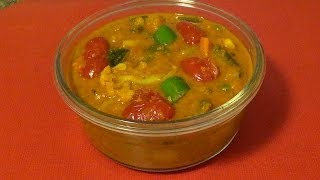 Vegetable Jalfrezi - Mix Vegetables Curry In North  Indian Style By Home Kitchen