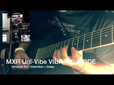 MXR Uni-vibe (Vibrato 2)