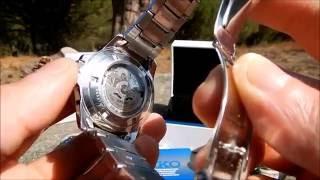 видео купить часы seiko