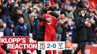 Klopp's Reaction: Mentality Monsters, staff praise & Gini   Liverpool vs Crystal Palace