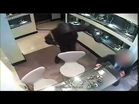 Security footage shows massive jewel heist in England
