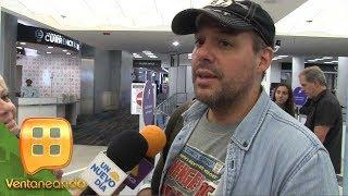 ¡SE VA SIN VER A SU PADRE! José Joel regresa a México por compromisos de trabajo. | Ventaneando