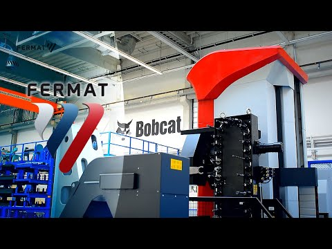Bobcat Doosan Factory Tour       (Lots Of Skid Steers!)