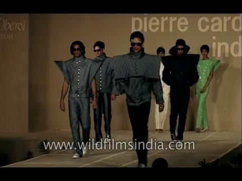 Arjun Rampal and Milind Soman at Pierre Cardin fashion show