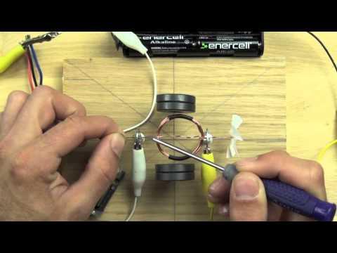 Сравнение мотора фена c самодельным мотором
