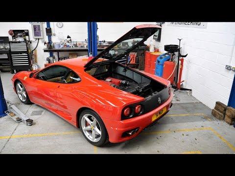 Thank God I Had Warranty! [Ferrari 360 Annual Service]