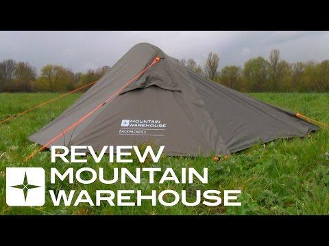 Mountain Warehouse Uni Backpacker Lightweight Dome 2 Man Tent Tent
