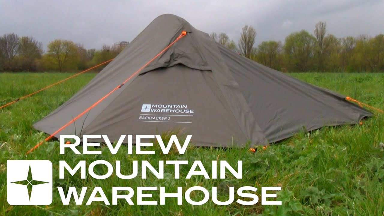 & Backpacker 2 Man Tent Review - YouTube