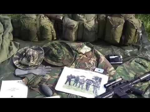 US Vietnam loadout kit gear Abingdon Air show 2014