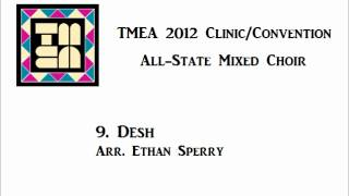 tmea all state mixed choir 2012 desh