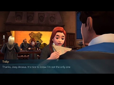 Hogwarts mystery dating tulip