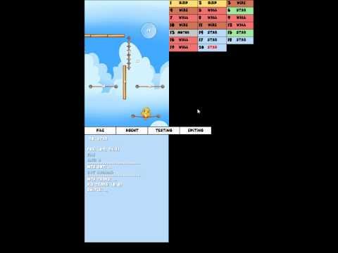 Jump Birdy Jump, level tool creation.