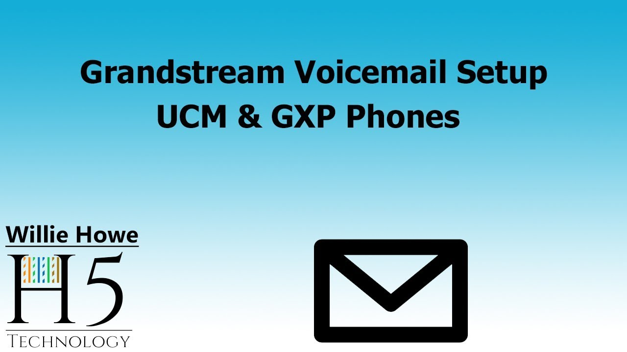 Grandstream Voicemail Setup - With Cheat Sheet!