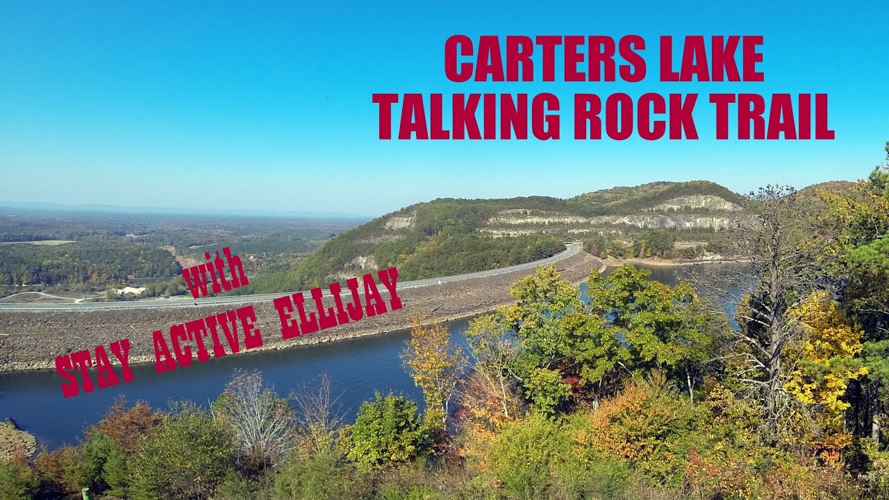Carters Lake Talking Rock Trail With Stay Active Ellijay Youtube