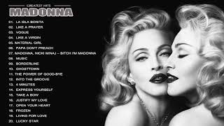 Madonna Greatest Hits || Best Songs Of Madonna