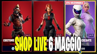 SERVER PRIVATI FORTNITE ITA LIVE SHOP 6 MAY 2019 - 70 ABBONATI REGALO 2 SKIN 65/70!