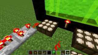 How to make a WORKING TV In Minecraft 1.7.5