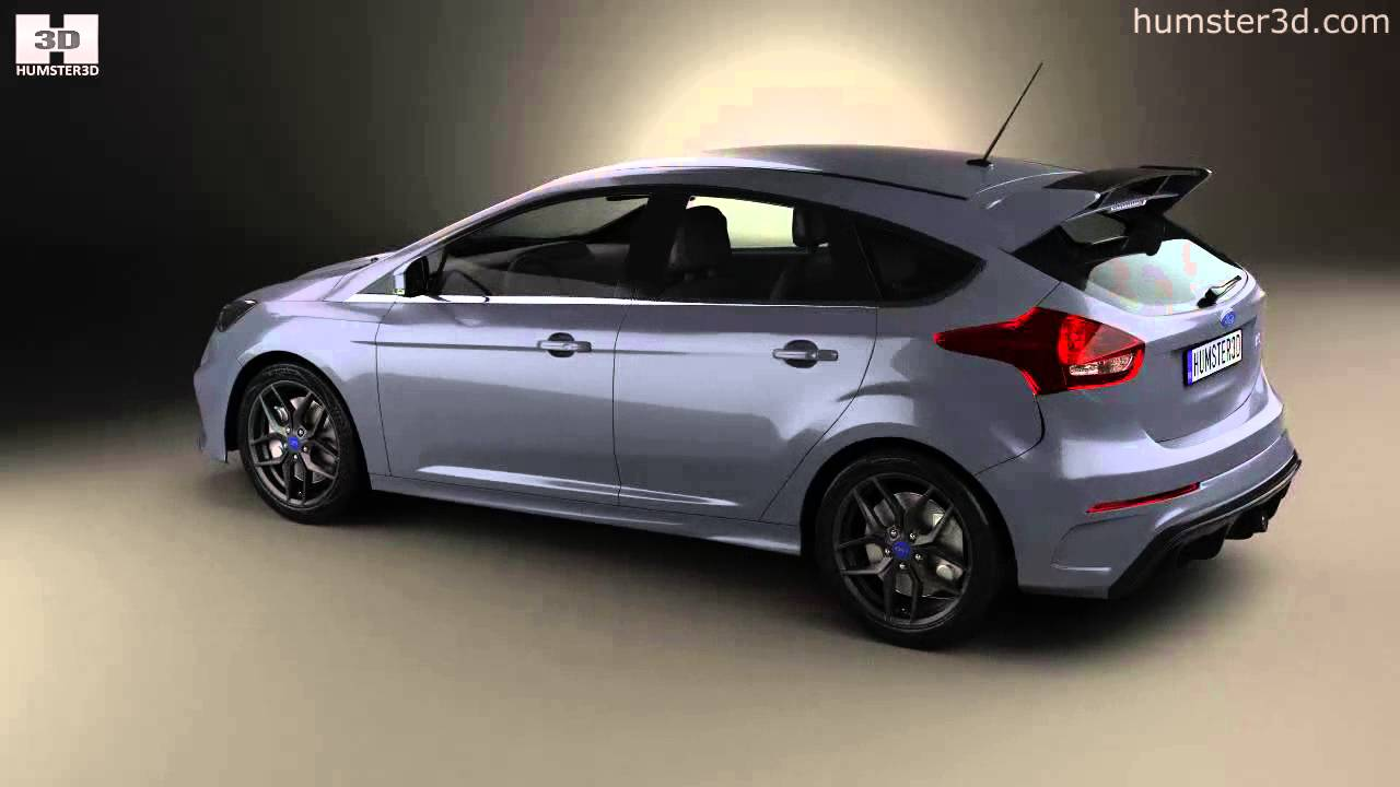 ford focus hatchback rs 2014 by 3d model store youtube. Black Bedroom Furniture Sets. Home Design Ideas