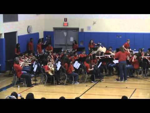 Beach Park Middle School Symphonic Band Apr 2014