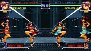 [TAS] Athena VS Athena (KoF 2002 MP2)