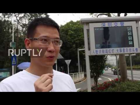 China: Shenzhen shames jaywalkers by beaming their FACES onto giant screen