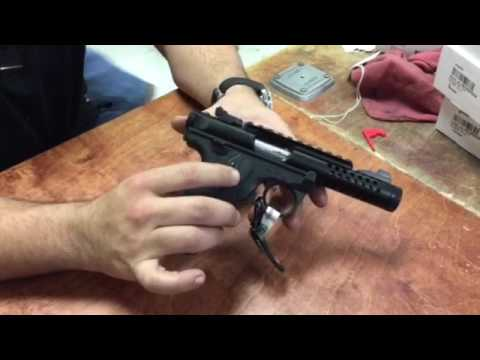 Ruger MKIV 22/45 22lr Disassembly and assembly, so easy!