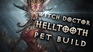 Diablo 3 2.4.1 Best Witch Doctor Pet Build and Follower Guide GR90+