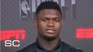 Zion finds comparisons with Jordan, Lebron, Westbrook and Kawhi   SportsCenter   2019 NBA Draft