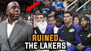 How Magic Johnson RUINED The Lakers Season!
