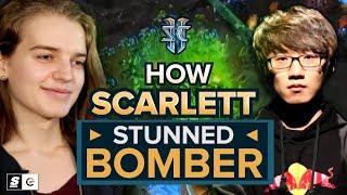 How Scarlett stunned Bomber in one of StarCraft