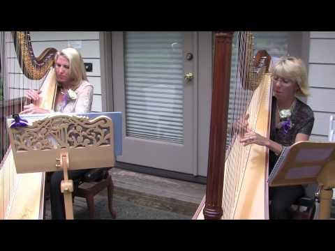 Pachelbels Canon In D Wedding Harp Duet