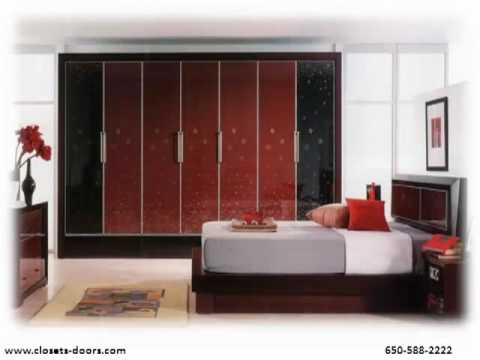 Sliding wardrobe doors youtube for Decolam designs for bedroom